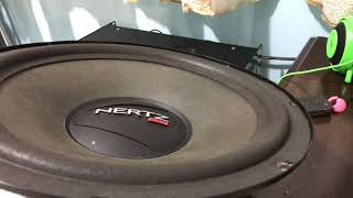 Subwoofer HERTZ extreme excursion - Bass i love you