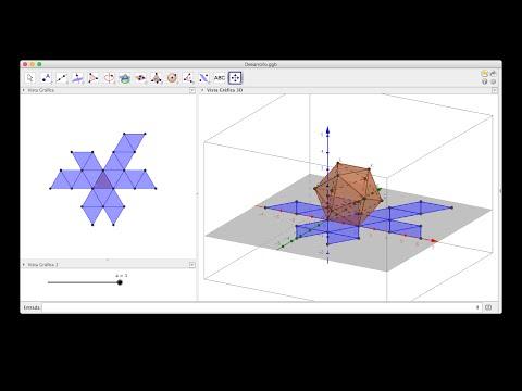 Sólidos Platónicos con GeoGebra (3D).