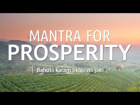 Mantra for Prosperity - Bahuta Karam | DAY 26 of 40 DAY SADHANA