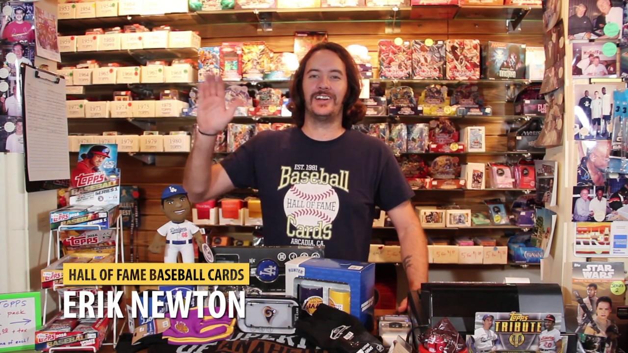 Black Friday 2016 At Hall Of Fame Baseball Cards