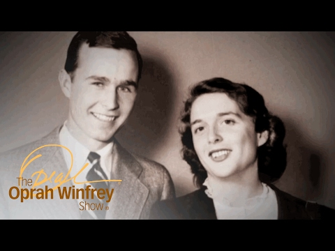 George H.W. Bush Reads an Old Love Letter to His Wife, Barbara | The Oprah Winfrey Show | OWN