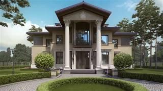 Проект дома с двумя входами – 2 корпуса и гараж