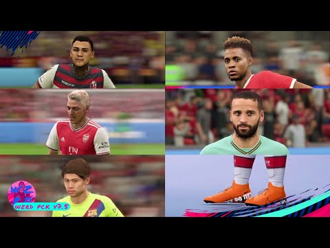 WZRD PCK V7.5 (110+ FACES, ALL NEW BOOTS & BALLS, TATTOOS, KITS, TRANSFERS, 2019/20 KITS & MINIKITS