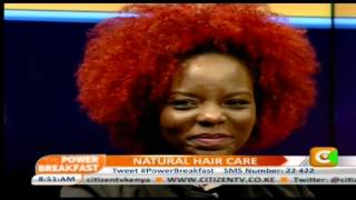 Power Breakfast Interview On Natural Hair Care