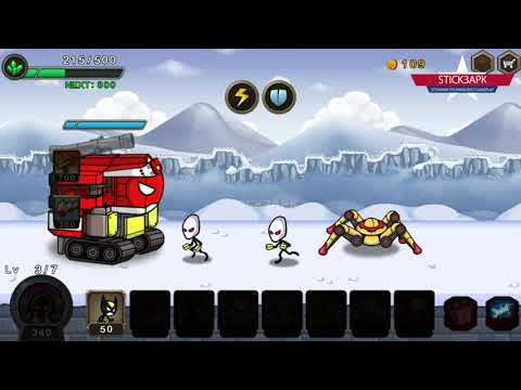 💛 HERO WARS Stickman Defense 💛 Android Gameplay #FHD