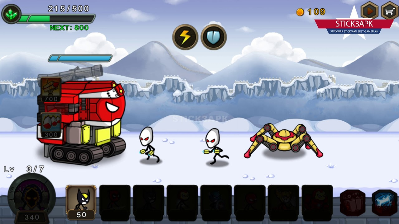 💛 HERO WARS Super Stickman Defense 3APK Mod NTN 💛 DOWNLOAD AMZ Best games  #FHD