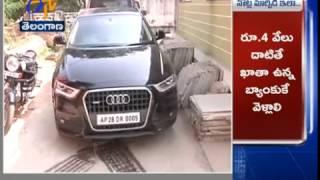 Audi Car Thief; taken Custody of Police