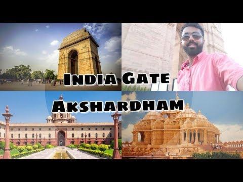 CLASS 1 DGCA MEDICAL CLEARED | DELHI DARSHAN | VISITING AKSHARDHAM TEMPLE & INDIA GATE | VLOG - 8