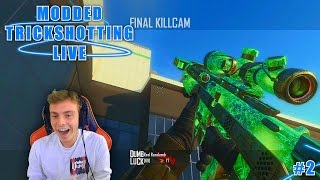 Red Randumb: Modded TrickShotting Live! | Episode 2 | Formula Hits A Wallbang!