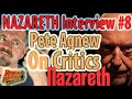 Capture de la vidéo Interview #8 - Pete Agnew Of Nazareth Has Words For The Critics