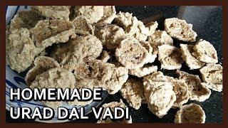 How to make Masala Urad Dal Vadi |Amritsari Wadiyan by Healthy Kadai