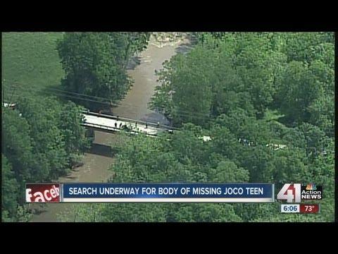 Teen missing in area creek presumed dead