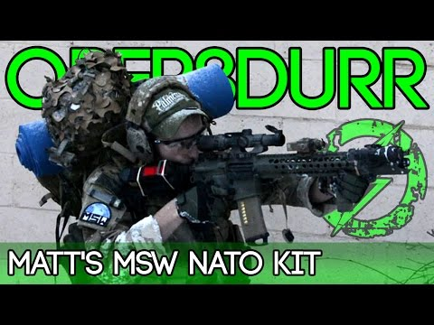 Amped Opor8durrr - Matt's NATO Kit for Milsim West