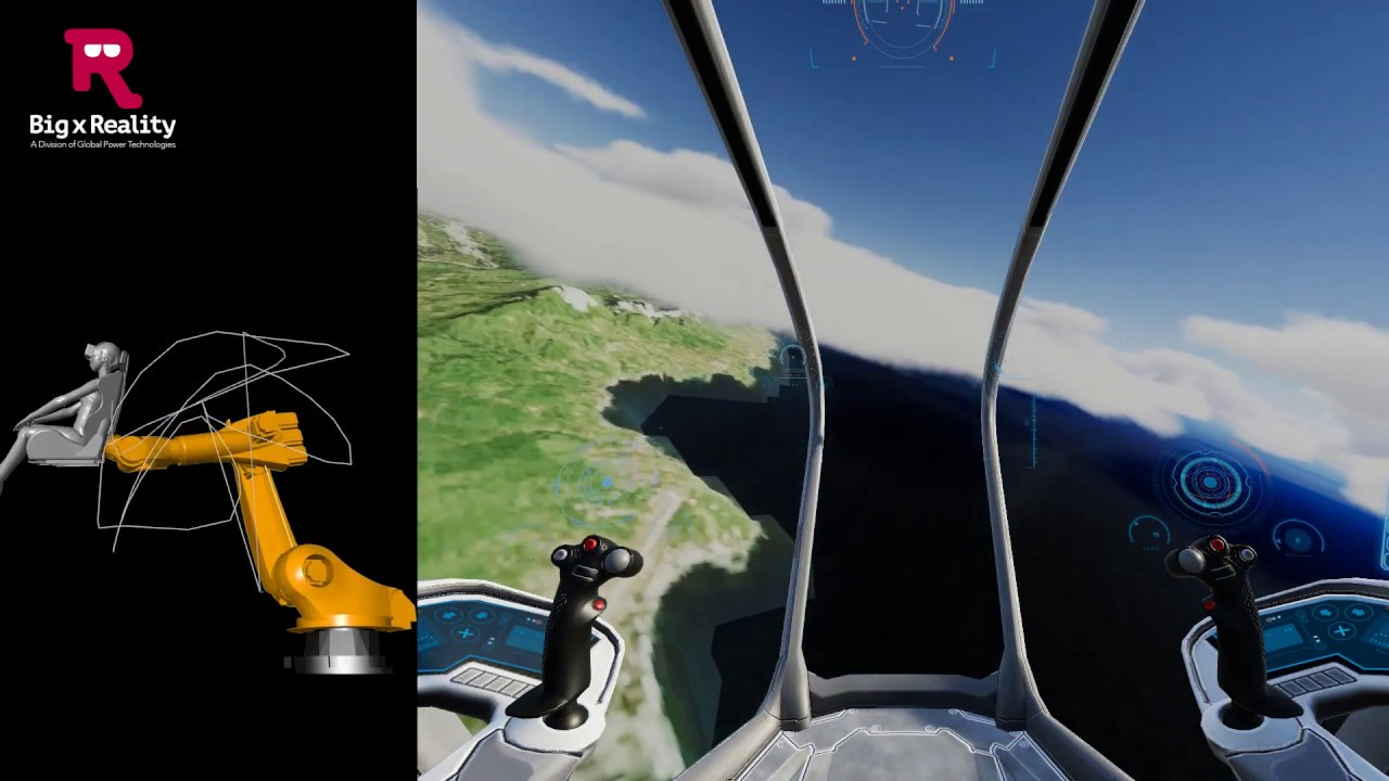 Robto VR Aircraft | Big x Reality