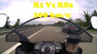 Audi RS6 VS Yamaha R1