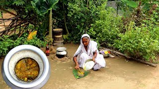 Thakumar Primitive Lunch Ideas | Foloi Bhapa Recipe | Traditional Indian Village Food