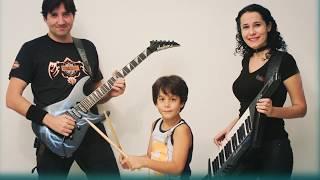 5 year old kid drummer 2019 Can Burak drums like a pro - irish tunes 2019 headbanger kid