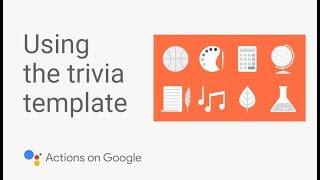بناء لعبة التوافه جوجل مساعد مع أي رمز قالب تعليمي #2