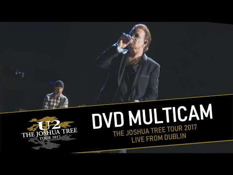 DVD U2 THE JOSHUA TREE TOUR 2017 - LIVE FROM DUBLIN (MULTICAM - HD)