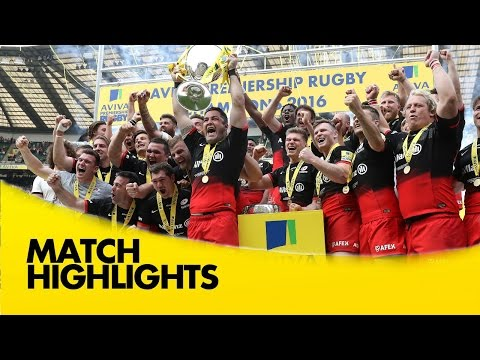 Saracens v Exeter Chiefs - Aviva Premiership Rugby Final 2015/16