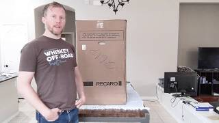 Recaro Pro Racer Hans Unboxing, Weighing, & Fitting