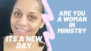 Are You a Woman in Ministry?