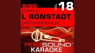 Different Drum (Karaoke Instrumental Track) (In the Style of Linda Ronstadt)