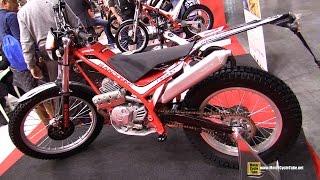 2015 Gas Gas TX 200 Randonne Trial Bike - Walkaround - 2014 EICMA Milan Motorcycle Exhibition