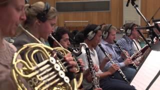 "Kolsimcha and London Symphony Orchestra recording ""Noah"" at Abbey Road Studio 1"