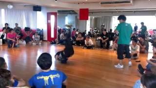 B-BOY ZAKAO Dancer's BATTLE ぐるぐるバットコンテスト