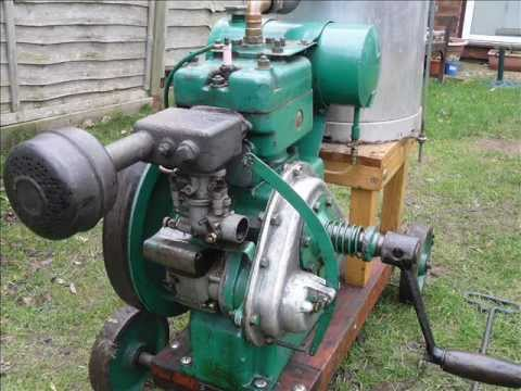 Petter w1vo improvements and running vintage for Stationary motors for sale