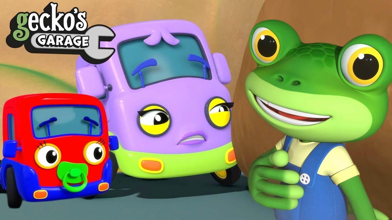 Mummy Truck Saves Gecko! | Gecko's Garage | Trucks For Children | Cartoons For Kids