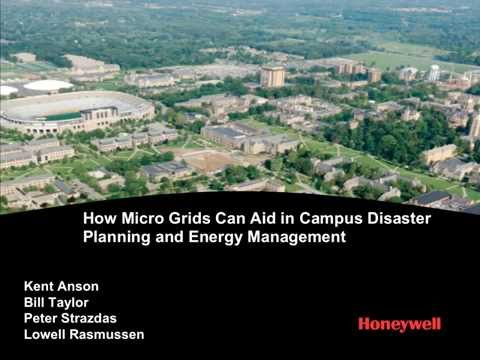 Smart Adaptation: How Micro Grids Can Aid in Campus Disaster Planning and Energy Management