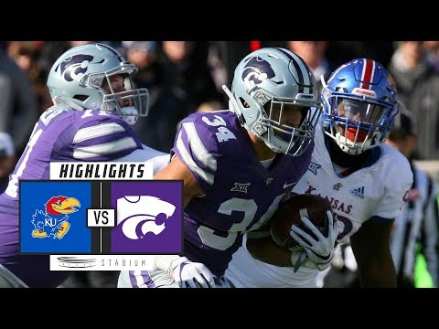Kansas vs. Kansas State Football Highlights (2018) | Stadium