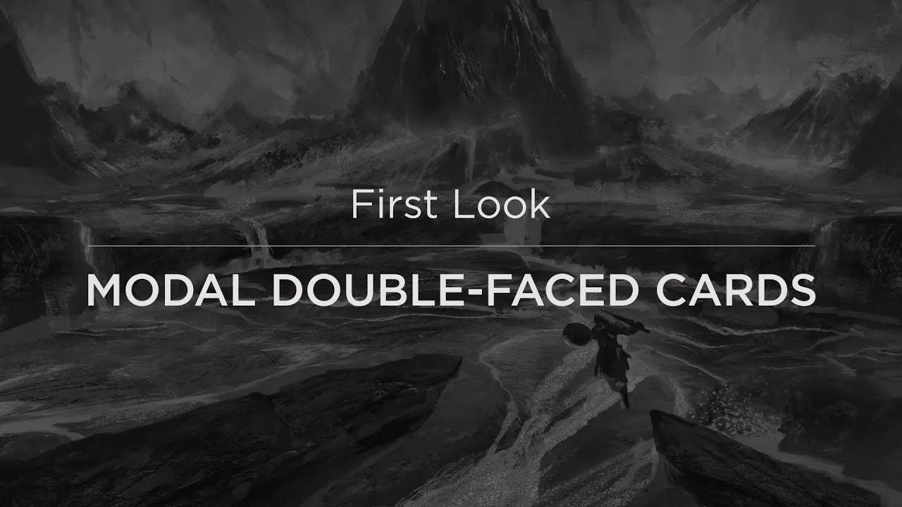 First Look: Modal Double-Faced Cards