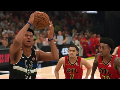 NBA Today 12/27 Atlanta Hawks vs Milwaukee Bucks Full Game Highlights | NBA 2K