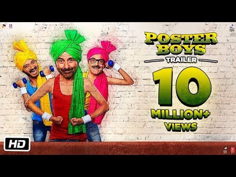 Poster Boys – Official Trailer | Sunny Deol | Bobby Deol | Shreyas Talpade