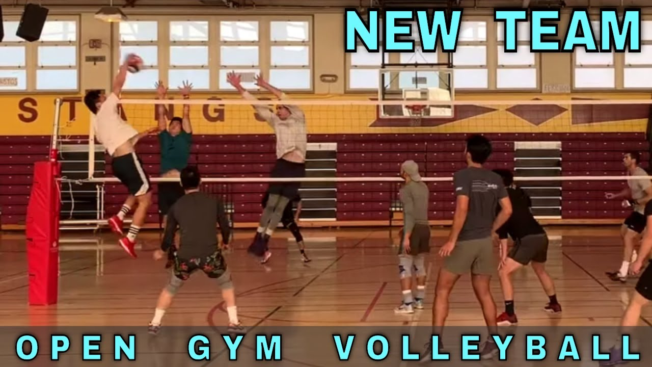 New Team Open Gym Volleyball 3 1 20 Part 1 Youtube