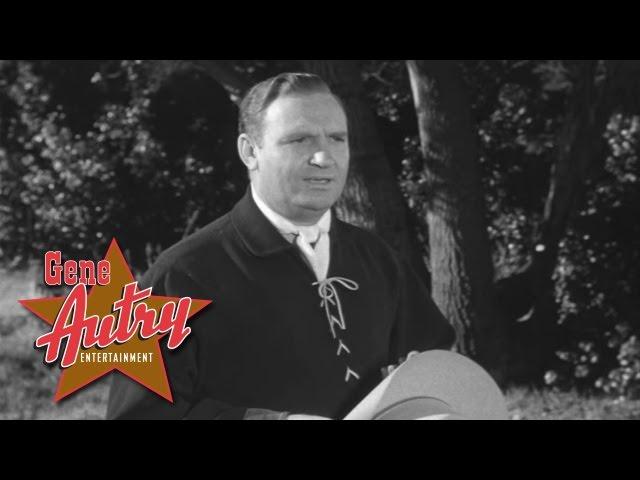 Gene Autry - Beautiful Dreamer (from Saginaw Trail 1953)