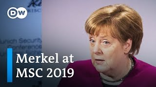 In a spirited speech at the Munich Security Conference 2019, German...