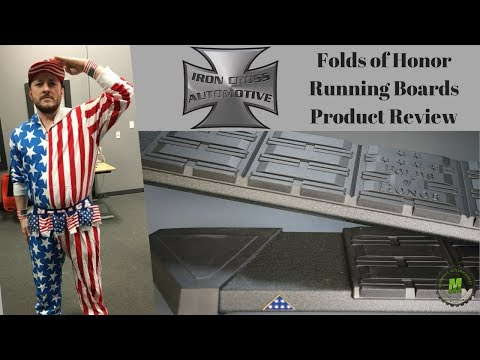 Iron Cross Automotive Patriot Boards Product Review