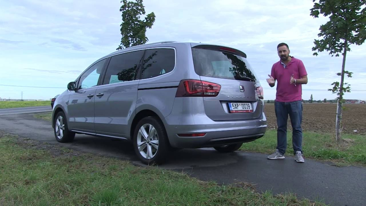 seat alhambra 2 0 tdi 2016 youtube. Black Bedroom Furniture Sets. Home Design Ideas