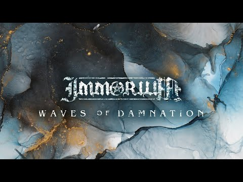 IMMORIUM // Waves of Damnation (Official Lyric Video)