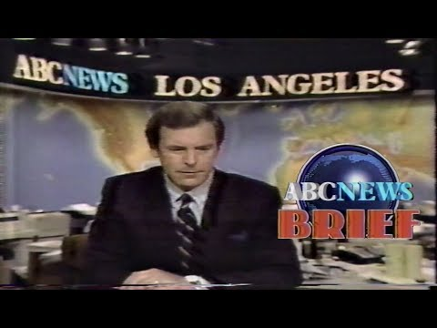 Peter Jennings ABC News Brief 1984