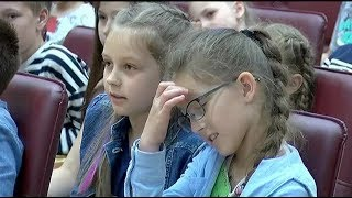 Детские интеллектуальные игры прошли в Центре детского творчества