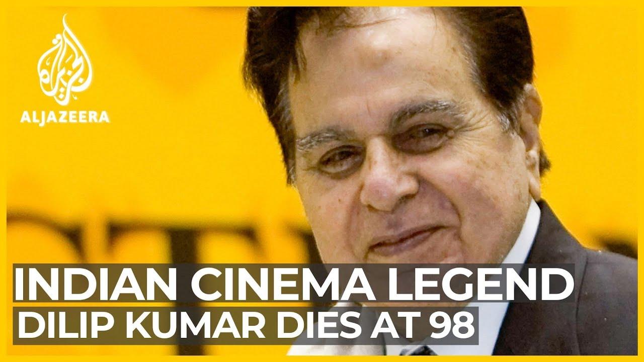 dilip kumar, bollywood's 'tragedy king', dies aged 98 - youtube