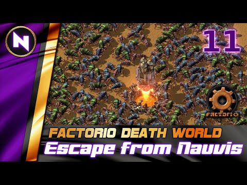 Factorio DeathWorld #11 THIS IS MY IRON NOW | Lets Play