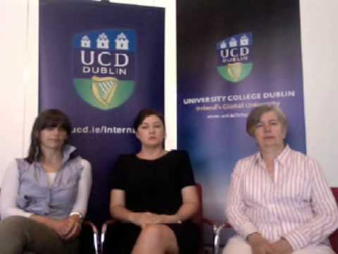 University College Dublin Admissions Video Chat