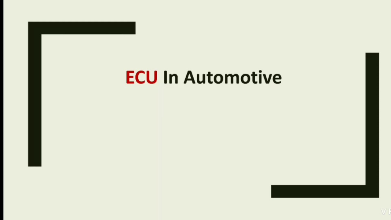 Download ECU in Cars   ECU in Automotive   Electronic Control Unit   Engine Control Unit   Embedded World