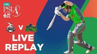LIVE REPLAY – Lahore Qalandars vs Multan Sultans | Match 7 | HBL PSL 6